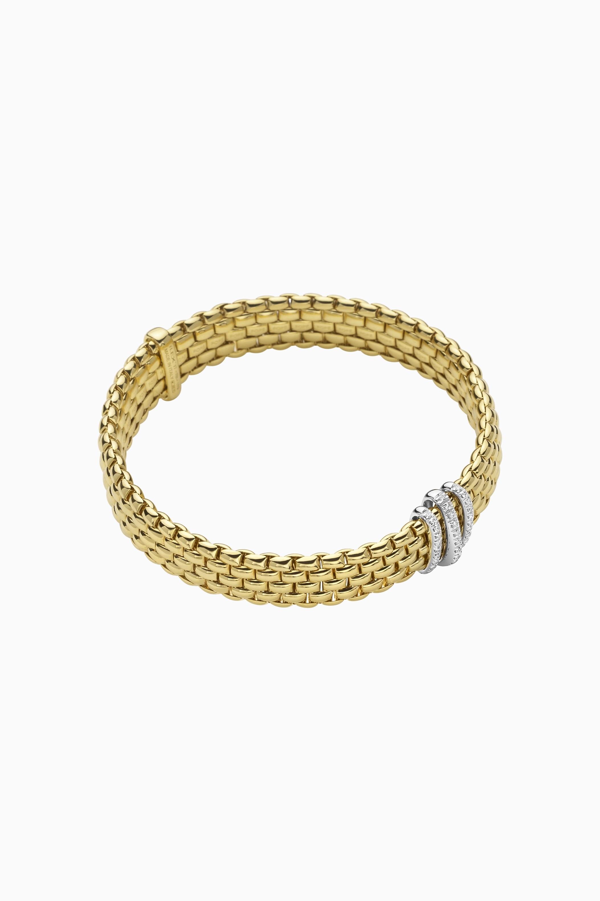 FOPE Flex'it Armband mit Pavébesatz