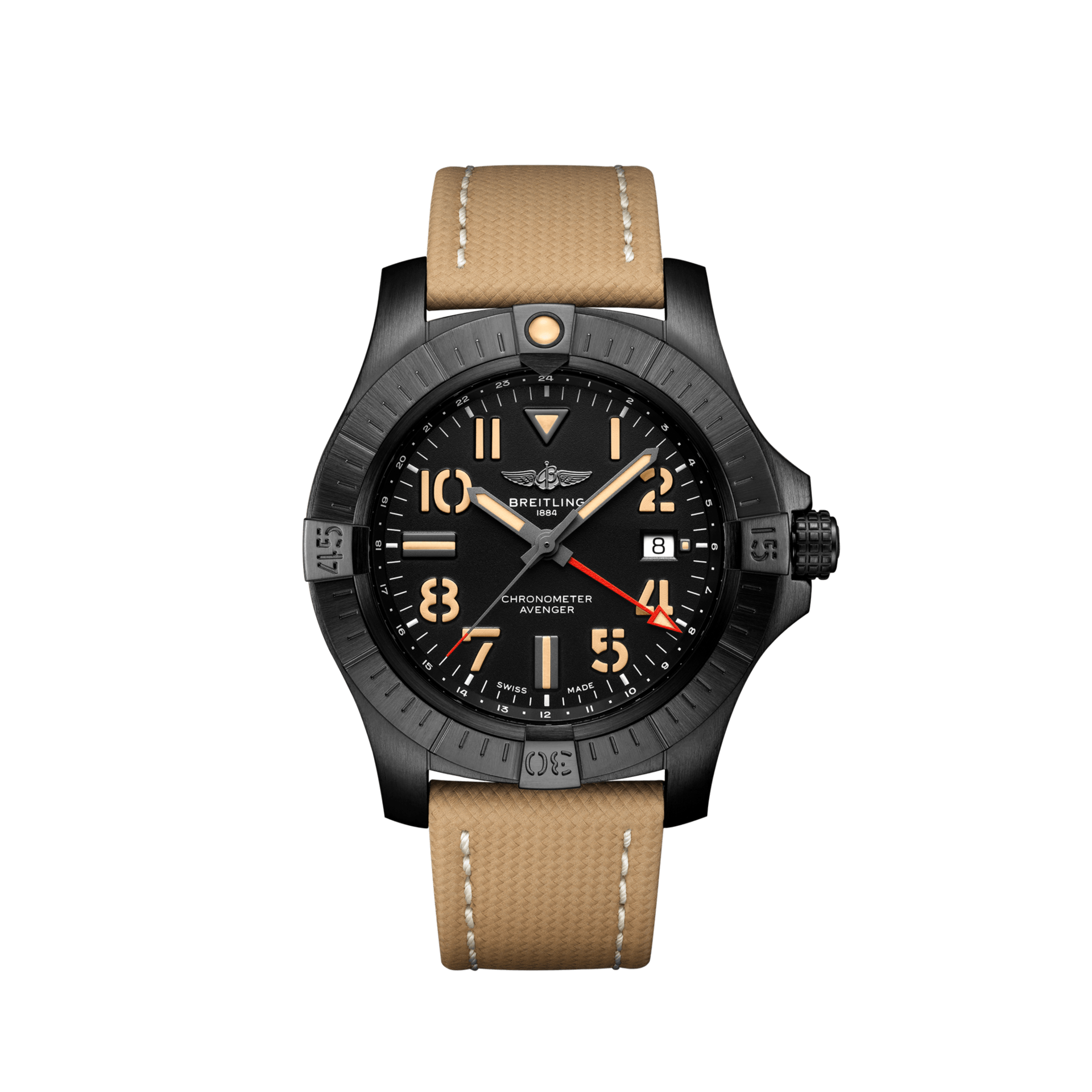 BREITLING AVENGER AUTOMATIC GMT 45 NIGHT MISSION